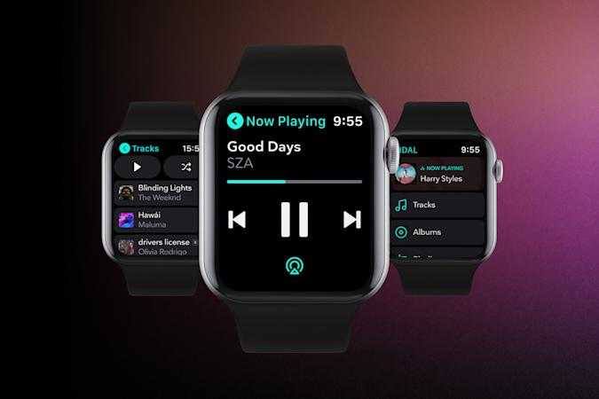 Tidal app for Apple Watch