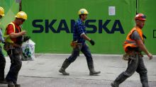 Builder Skanska unexpectedly proposes lower dividend, shares fall