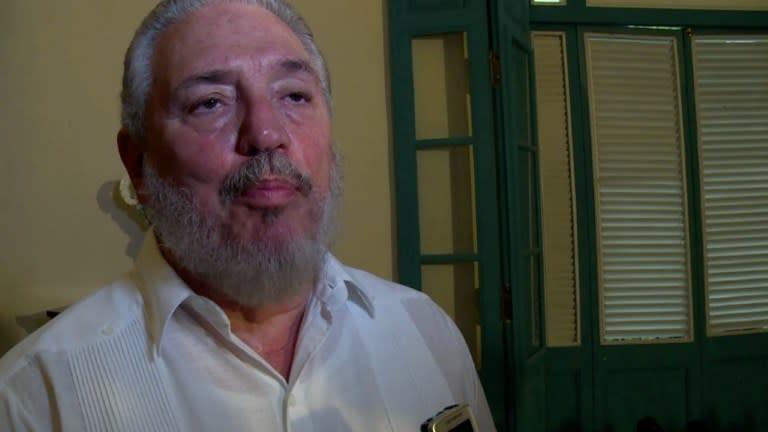 """""""Fidelito"""", hijo mayor de Fidel Castro, se suicidó en Cuba ..."""