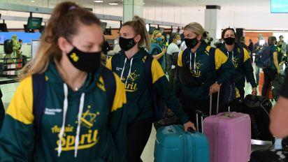 Australian athletes 1st to arrive in Tokyo