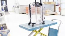 """Rimowa's transparent suitcase is luggage, yes—but it's also """"shareable content"""""""