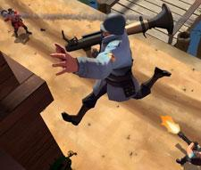 Team Fortress will not have cross-platform play, but Valve plays it that way