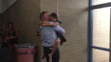 Military Dad Surprises Daughter Before Her Dance Competition