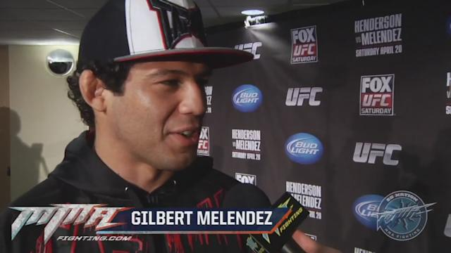Gilbert Melendez believes the respect he craved came when he stopped caring