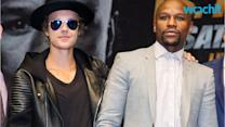 Justin Bieber -- Walking Out With Mayweather?? ... HELL YEAH!!