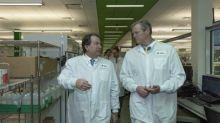 Massachusetts Governor Baker Visits State of the Art Quest Diagnostics Marlborough Laboratory