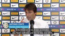 """Antonio Conte: """"Der Zweite ist der erste Verlierer"""""""