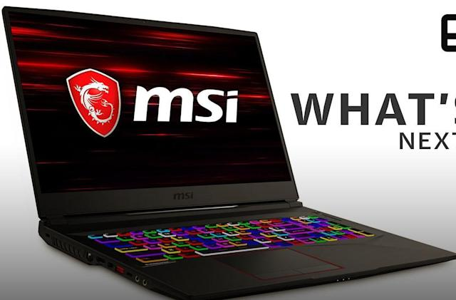 What's next for MSI in gaming PCs