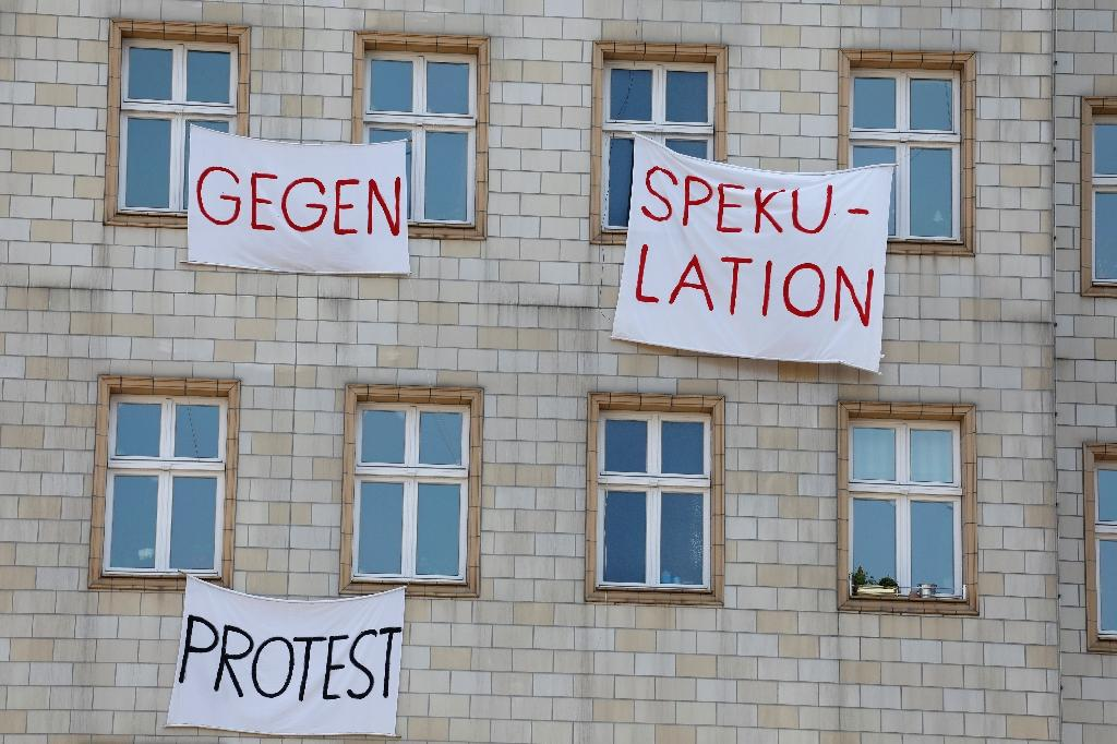 The wave of gentrification and rising rents is provoking rising anger (AFP Photo/Odd ANDERSEN)