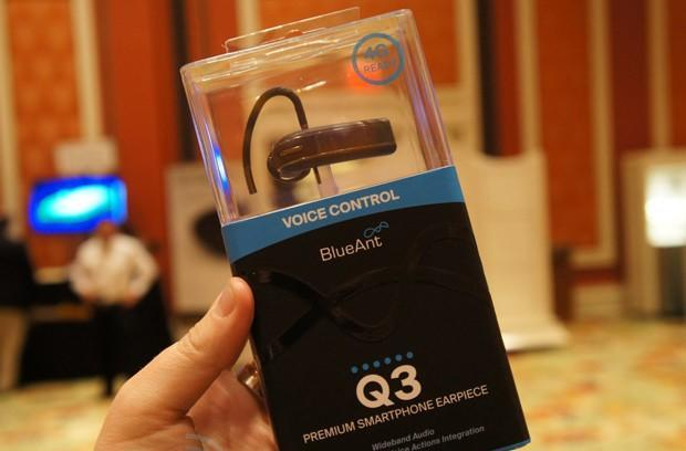 BlueAnt's Q3 Bluetooth headset hands-on