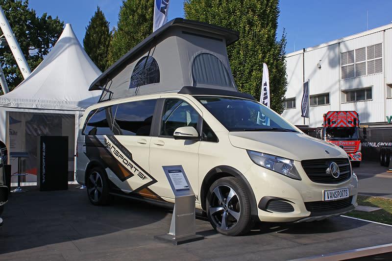 Mercedes-Benz的California?在歐洲只要你有錢,就算是V-Class也能變身專業露營車。