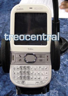 Palm's GSM Centro spotted in white