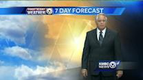 Temperatures heading for the 90s
