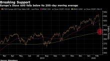 Europe Stocks Enter Correction; SocGen Says Half-Way Into Slump