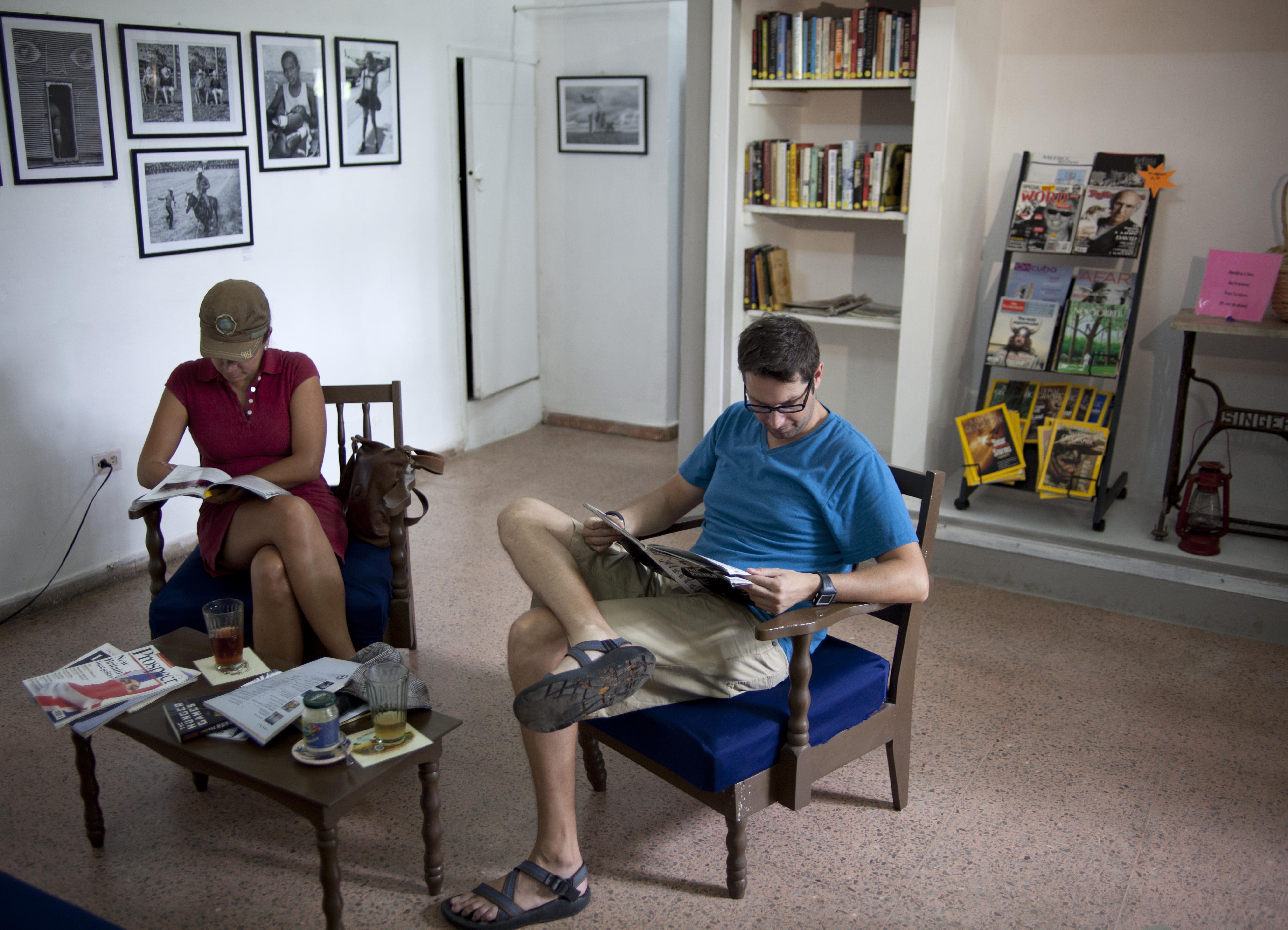 New English-language bookstore a 1st in Havana