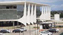 Iphanbarra instalação de escudo contra dronesem palácios de Brasília