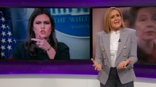 Samantha Bee agrees with Michelle Wolf that Sarah Sanders is a liar