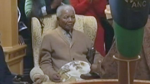 South Africa's President Cancels Trip Amid Nelson Mandela Worry