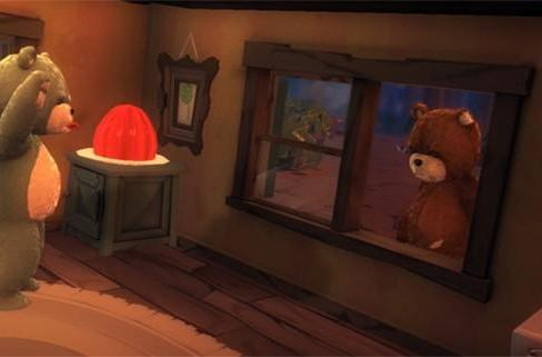 Naughty Bear's cannibalistic, Jaws-inspired trailer