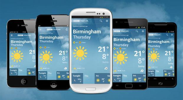 BBC launches standalone weather app on Android and iOS, includes hourly UK forecasts
