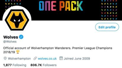 Wolves poke fun at European Super League by declaring themselves as 2018/19 Premier League champions