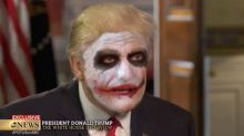 Donald Trump Defends Immigration Ban as The Joker in Surprisingly Seamless Parody