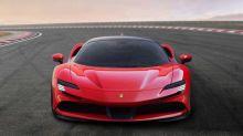 Ferrari SF90 Stradale is a 986-horsepower plug-in hybrid