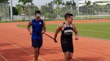 Running the Standard Chartered Singapore Marathon blindfolded for charity – again