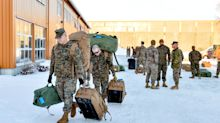 Hundreds of U.S. Marines land in Norway, irking Russia