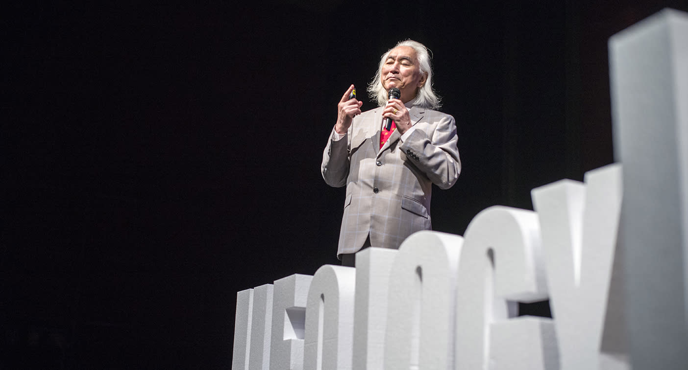 A 'turning point' on UFOs: Physicist Michio Kaku tells ufology conference the truth is out there