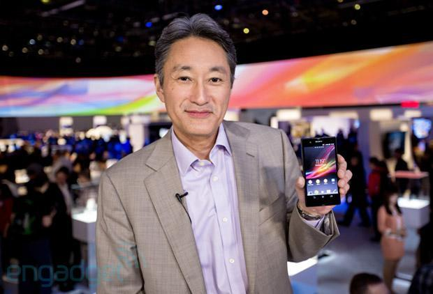 Sony's 2012 earnings show a net profit of $458 million, its first since 2008