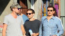 Leonardo DiCaprio, Orlando Bloom y Tobey Maguire: guapos, solteros y amigos