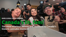 Reactions to Canada's historic cannabis moment: Canada's lit, fam!