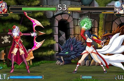 Artist takes League of Legends from MOBA to 2D fighter