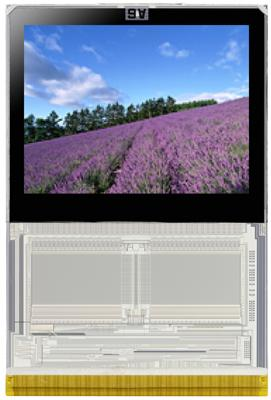 NEC integrates more components into 'system-on-glass' LCDs