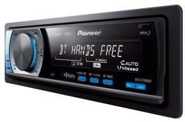 Pioneer releases four Bluetooth-enabled car stereos