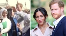 Harry comes to Meghan's aid in heartwarming video