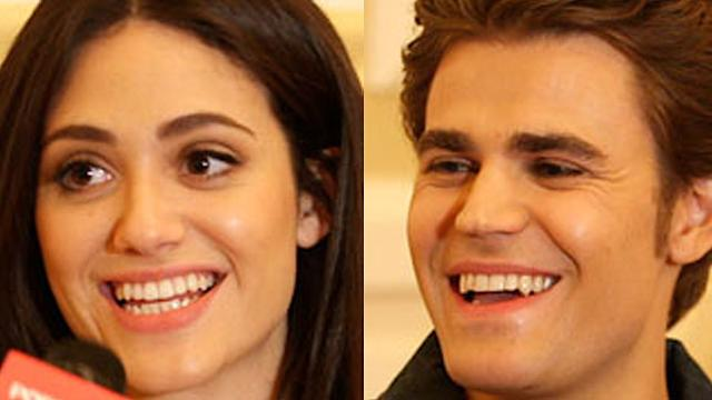 Emmy Rossum Says Paul Wesley's Fans Won't Leave Her Alone