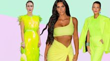 We're all going to be dressed like highlighters this autumn, apparently