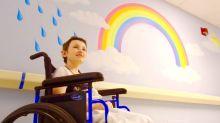 New artwork brightens up pediatrics unit at QEH