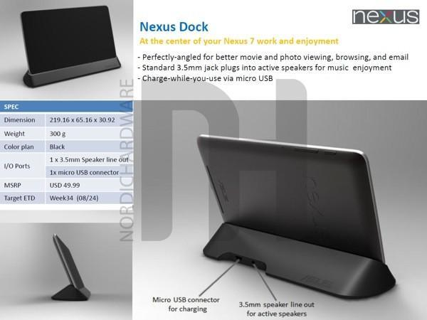 Nexus 7 dock and covers leak, promise high style in small sizes (update: source goes down)