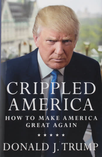 "<p><strong>Donald Trump: <a href=""http://www.amazon.com/Crippled-America-Make-Great-Again/dp/1501137964/?tag=aolnews-20"" target=""_blank"">Crippled America: How to Make America Great Again</a></strong></p>  <p></p>"