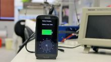 Phones which charge to full in five minutes 'could be on sale next year'