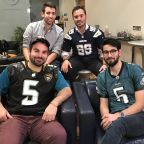 Connection to NFL star leads to fantasy football love in the U.K.