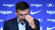 Le président du FC BarceloneJosep Maria Bartomeu démissionne