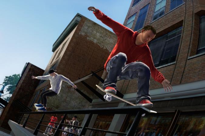 Grinding in 'Skate 3'