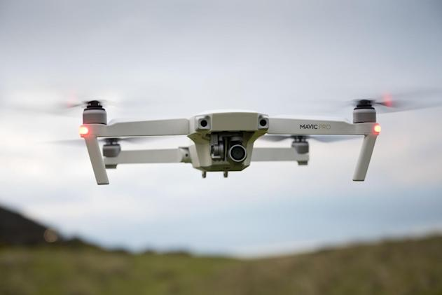 Interior Department grounds Chinese-made drones