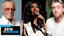 2018 celebrity deaths: Aretha Franklin, Mac Miller, Anthony Bourdain and more
