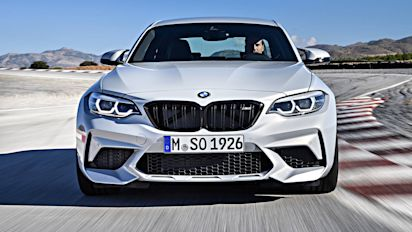 Watch the BMW M2 Competition lap the 'Ring in 7:52.36