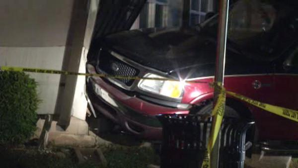 Truck crashes into Chester home
